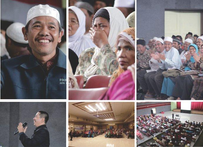 Training SMS untuk 500 guru Al Qur?an Gresik
