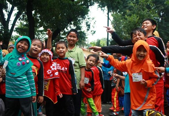 Keseruan Outbond Sahabat ANAS di Singgasana
